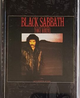 BLACK SABBATH  FEATURING TONY IOMMI SEVENTH SIAR audio cassette