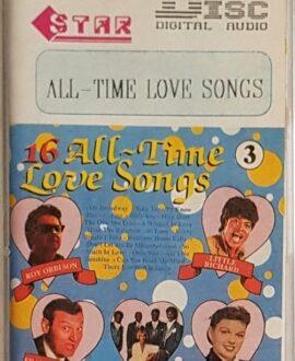 ALL TIME LOVE SONGS 3 LITTLE RICHARD, ROY ORBISON.. audio cassette