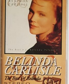 BELINDA CARLISLE THE BEST OF BELINDA audio cassette