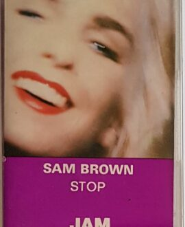 SAM BROWN STOP audio cassette
