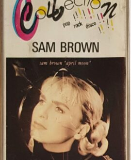 SAM BROWN APRIL MOON audio cassette
