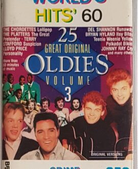 WORLD'S HITS 60 THE PLATTERS, PRETENDER.. audio cassette