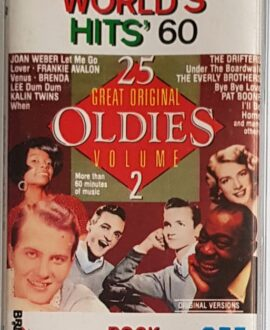 WORLD'S HITS 60 VENUS, THE DRIFTERS audio cassette