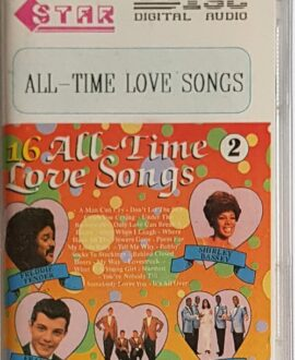 ALL TIME LOVE SONGS THE DRIFTERS, THE PLATTERS.. audio cassette