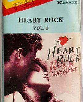 HEART ROCK vol.1 RICHARD MARX, ROD STEWART... audio cassette