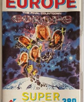 EUROPE THE FINAL COUNTDOWN audio cassette