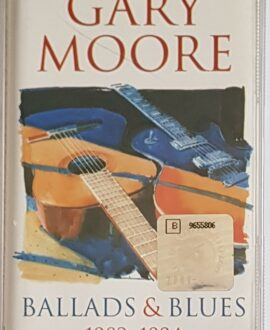 GARY MOORE  BALLADS & BLUES 1982 - 1994 audio cassette