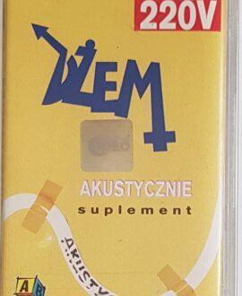 DŻEM  AKUSTYCZNIE SUPLEMENT audio cassette