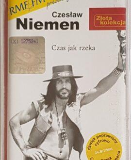 CZESŁAW NIEMEN  CZAS JAK RZEKA audio cassette