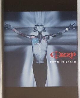 OZZY OSBOURNE  DOWN TO EARTH audio cassette
