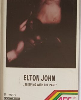 ELTON JOHN  SLEEPING WITH THE PAST audio cassette