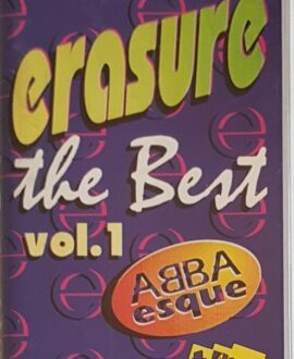 ERASURE  THE BEST vol.1 audio cassette