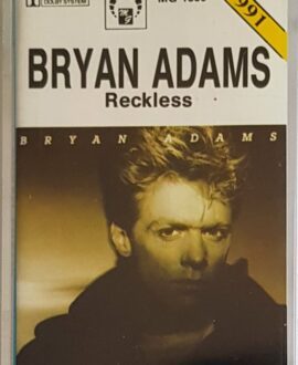 BRYAN ADAMS  RECKLESS audio cassette