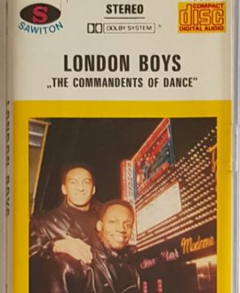 LONDON BOYS  THE COMMANDENTS OF DANCE audio cassette