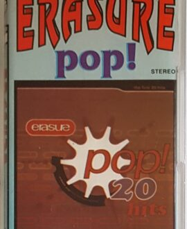 ERASURE  POP 20 audio cassette