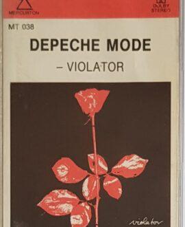 DEPECHE MODE  VIOLATOR audio cassette