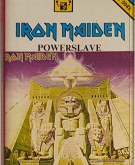 IRON MAIDEN  POWERSLAVE audio cassette