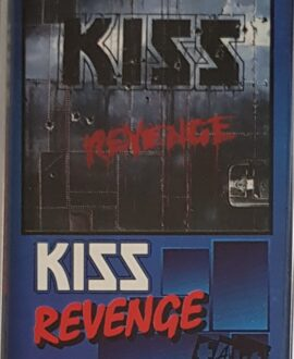 KISS  REVENGE audio cassette