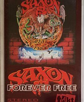 SAXON  FOREVER FREE audio cassette