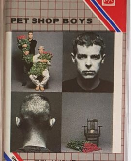 PET SHOP BOYS  BEHAVIOUR audio cassette