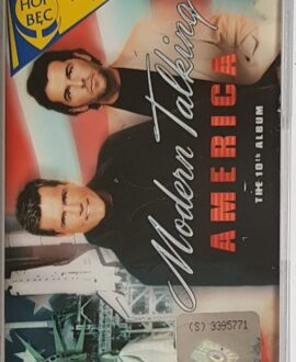 MODERN TALKING  AMERICA audio cassette