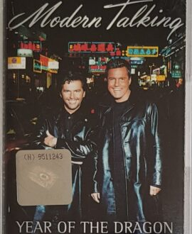 MODERN TALKING  YEAR OF THE DRAGON audio cassette