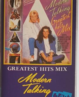 MODERN TALKING  GREATEST HIT MIX audio cassette
