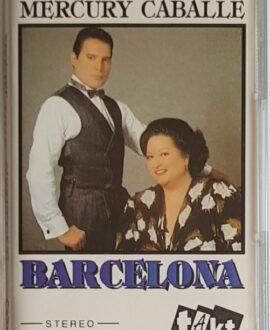 FREDDIE MERCURY, MONTSERRAT CABALLE  BARCELONA audio cassette
