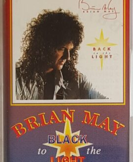 BRIAN MAY  BLACK TO THE LIGHT audio cassette