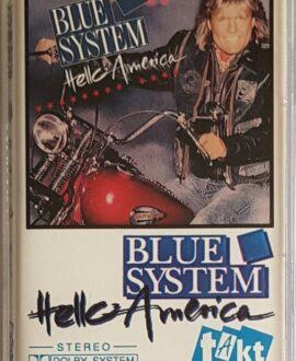 BLUE SYSTEM  HELLO AMERICA audio cassette