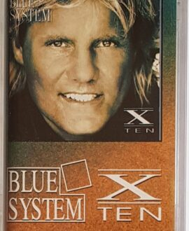 BLUE SYSTEM  X-TEN audio cassette