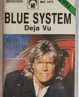BLUE SYSTEM  DEJA VU audio cassette