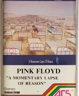 PINK FLOYD  A MOMENTARY LAPSE OF REASON audio cassette