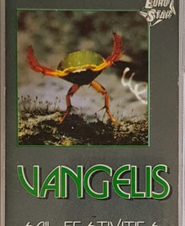 VANGELIS  SOIL FESTIVITIES  audio cassette