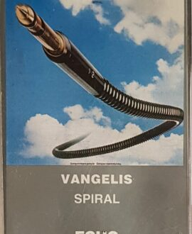 VANGELIS  SPIRAL audio cassette