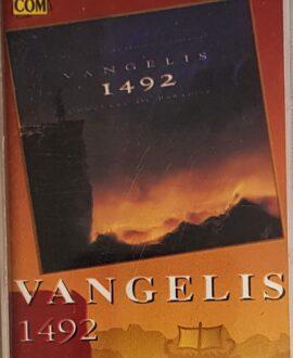 VANGELIS  1492 audio cassette