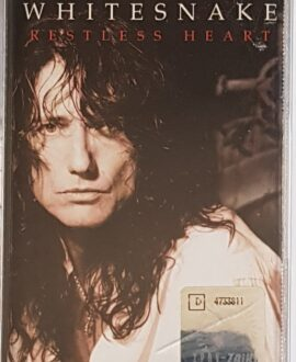 WHITESNAKE & D.COVERDALE  RESTLESS HEART audio cassette