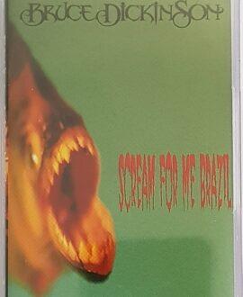 BRUCE DICKINSON  SCREAM FOR THE BRASIL audio cassette