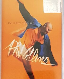 PHIL COLLINS  DANCE INTO THE LIGHT audio cassette