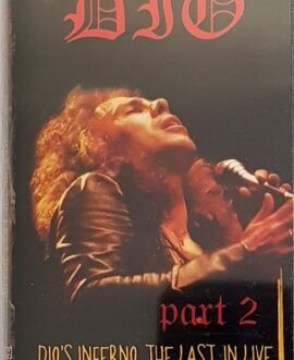 DIO  DIO'S INFERNO - THE LAST IN LIVE 2 audio cassette