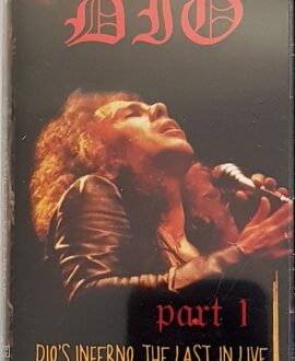 DIO  DIO'S INFERNO - THE LAST IN LIVE 1 audio cassette