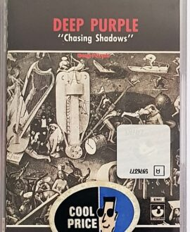 DEEP PURPLE  CHASING SHADOWS audio cassette
