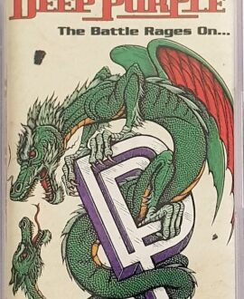 DEEP PURPLE  THE BATTLE RAGES ON... audio cassette