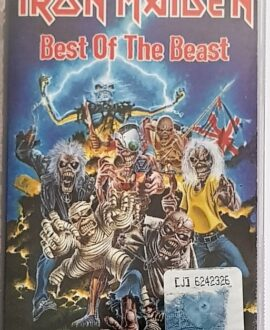 IRON MAIDEN  BEST OF THE BEAST audio cassette