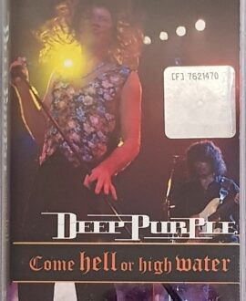 DEEP PURPLE  COME HELL OR RIGHT WATER audio cassette