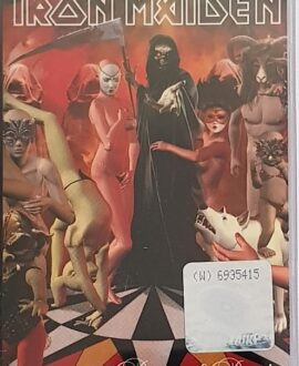 IRON MAIDEN  DANCE OF DEATH audio cassette