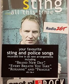 STING  ...ALL THIS TIME audio cassette