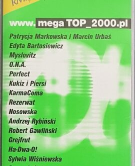 MEGA TOP 2000  O.N.A., MYSLOVITZ...audio cassette