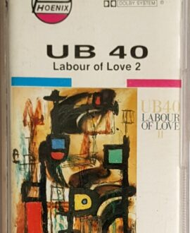 UB 40  LABOUR OF LOVE 2 audio cassette