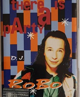 D.J. BOBO  THERE IS A PARTY audio cassette